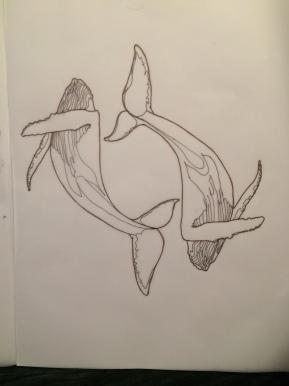 Whales – Tattoo Design