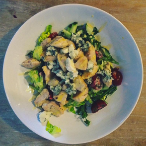 Chicken, Gorgonzola Salad